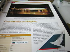 Airlines Archiv China Hongkong Cathay Pacific Aisways 12S