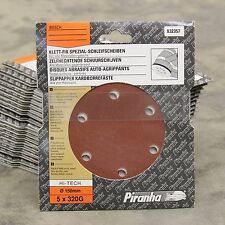 100 piranha X32357 150MM quick fit ponçage disque 320G dewalt makita bosch etc