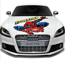 Reflective SPIDERMAN Decal Vinyl Car Stickers Auto Hood Cover Scratch Sticker