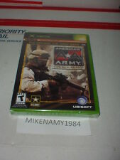 New AMERICA'S ARMY: RISE OF A SOLDIER game Microsoft XBOX or XBOX 360 - SEALED