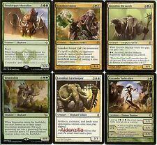 MTG Elephant Deck (Green White) - Loxodon Smiter Gatekeeper - Magic Gathering