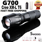 G700 Tactical Flashlight Tactical LED Military SkyWolfeye ShadowHawk Zoom X800
