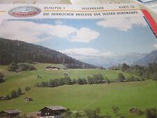 Alpenbahnen Ostalpen 1 K 10 Tauernbahn Brücken der Tauern Nordrampe
