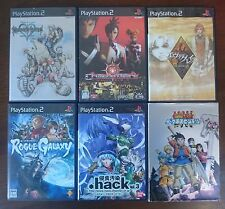 6 X RPG GAMES (EVERGRACE, HACK +)  - Japanese Sony Playstation 2 (PS2)