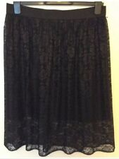 Bnwt ��Next�� Size 8 Black Lace Ladies Skirt Work Office Party Evening New £40