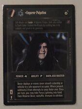 Star Wars ccg M/NM Emperor Palpatine Ultra Rare UR Death Star II card