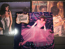3 Linda Ronstadt LP lot, Hasten Down The Wind, Simple Dreams, What's New