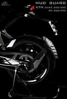 "KTM DUKE200/390 RC200/390 Rear Splash Guard/Mud Guard ""Esatto"" by Leon"