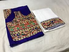 New Designer Sari Georgette Peackok print Beutiful Border Saree Printed Blouse