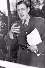 WW2 - Le Général de Gaulle dans un discours à Londres