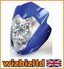 Blue Aura Fairing MotoX and Street Fighter Headlight conversion - HLUAURBU