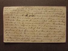 Autografo Cartolina Postale Augusto Conti Filosofo Letterato Tomismo 1885