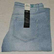 TRUE FREEDOM THE GETAWAY JUNIORS BOYFRIEND JEANS LIGHT WASH - SZ 5