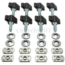 Hard Top Nut Thumb Screws Quick Removal Fastener Sets For Jeep Wrangler YJ TJ JK