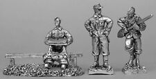 CP Models WH05 20mm Diecast WWII German Field Latrine. 3 Figs inc. 1 in action.