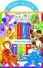 Baby Einstein My First Library Box Set of 12 Board Books NEW Ages 10 Months+