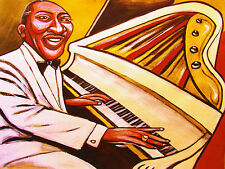 COUNT BASIE PRINT poster jazz piano newport festival kansas city suite cd band
