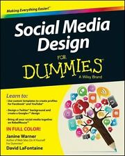 Social Media Design For Dummies (For Dummies (Computer/Tech))