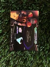2009 UD BLACK BRIAN CUSHING LUSTROUS ON CARD AUTO #/399 TEXANS