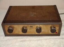 Vintage EICO HF-12 Mono Tube Amplifier For Parts or Repair Needs Tubes