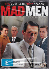 MadMen - The Complete First Season - DVD (3xDVD Brand New Sealed)