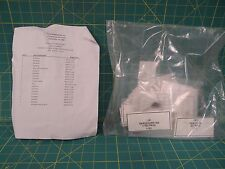 Valve Parts Kit and List NSN 4820-01-157-6139 Boom and Spade Combo PN 5705343