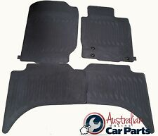 MITSUBISHI TRITON ML MN Floor Mats Rubber Brand New Genuine 2007-2015 double cab
