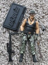 G.I. JOE SDCC SGT SLAUGHTER TRIPLE T VARIANT 25TH 30TH ANNIVERSARY 2010 WWE WWF