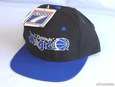 ORLANDO MAGIC Vintage Hat 90's Snapback Cap NBA Basketball NWT Logo 7