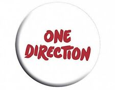 ONE DIRECTION text - BUTTON BADGE official licensed merchandise 1D