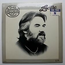 Kenny Rogers Sealed Original UA LP 1976 Lucille Hype Sticker