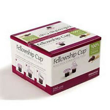 Communion Set - Fellowship Cup Juice / Wafer- 250 Sets (Pkg-250) Lords Supper