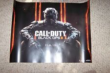 CALL OF DUTY  BLACK OPPS  3  POSTER  11-6-15  NEW SIZE 19 1/4 BY 26 1/2