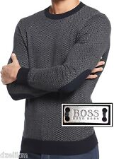 NWT Hugo Boss Black Label By Hugo Boss Slim-Fit Cotton-Wool Sweater Size XXL