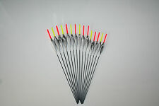 NEW HANDMADE POLE FISHING FLOATS - RIZOV RF118 - 15 PIECES - 5x0.2/0.4/0.6 GR.