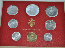 1975 Vatican City Paul VI (XIII Year) Coin Set - Unc