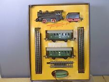 "VINTAGE FLEISCHMANN  ""HO"" MODEL No. 1000/2P STEAM PASSENGER TRAIN SET     VN MIB"
