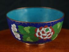 Outstanding Vintage cloisonne bowl chinese ca. 1930 [Y8-W6-A9-E9]