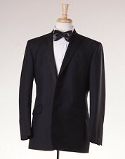 NWT $1475 BROOKS BROTHERS BLACK FLEECE Wool-Mohair Tuxedo Slim 36 R BB0 Suit