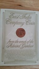 East India Company Coin 1808, from Admiral Gardner wreck, + Certification
