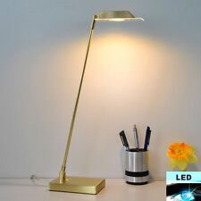 LED Lampe De Bureau 49cm Or/Gold énergie Smd Table