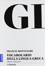GI - Vocabolario della lingua greca: Libro