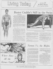 TARZAN article & Buster Crabbe interview in The Miami Herald September 10, 1976