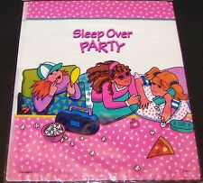Sleep Over Slumber Party Treat Sacks Goody Loot Favor Party Bags 8 Count