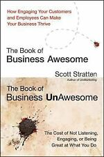 NEW! The Book of Business Awesome -The Book of Business UnAwesome-Scott Stratten