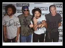 RAGE AGAINST THE MACHINE AUTOGRAPHED SIGNED & FRAMED PP POSTER PHOTO