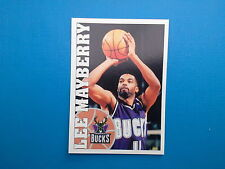 1995-96 Panini NBA Basketball Sticker N.122 Lee Mayberry Milwaukee Bucks