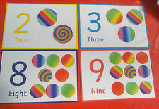 COUNTING CARDS - PLAYDOH MATS - VARIETY OF USES- EYFS - NURSERY/PRE-SCHOOL- HOME