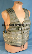 USGI Military ACU DIGITAL MOLLE II Fighting Load Carrier FLC VEST w/ ZIPPER VGC