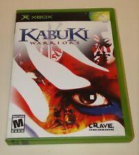 Kabuki Warriors  (Xbox, 2001) Complete